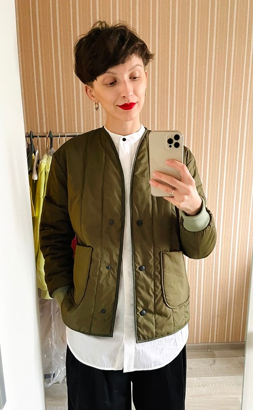 Стёганая курточка от AlexandraMashkevich