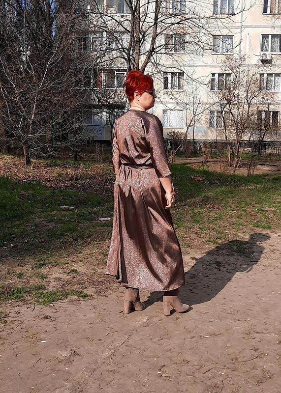 Простое апрельское платье от marsellin