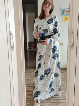 Работа с названием Любимая модель платья