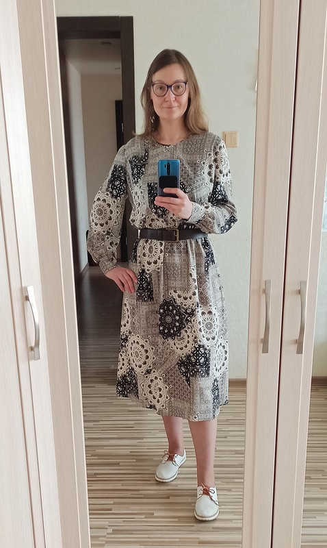 Любимая модель платья от Ezhevika