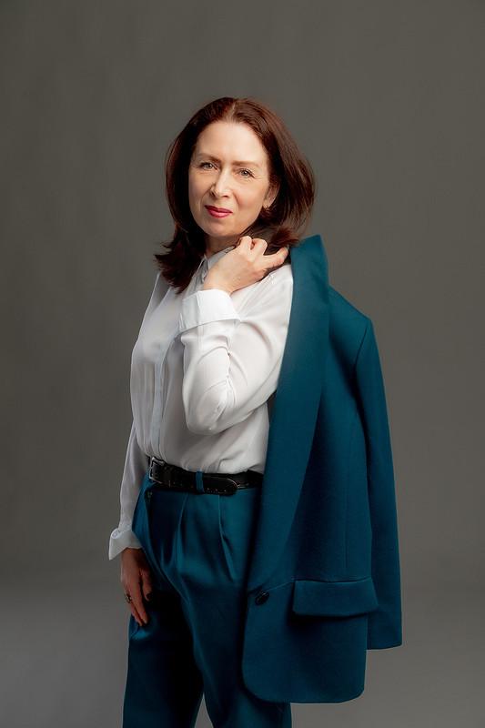 Брючный костюм от Похващева Ирина
