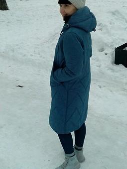 Работа с названием Пальто на синтепоне