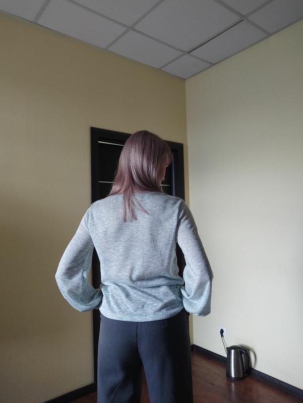 Пуловер «Бирюза весной!» от Zaaz