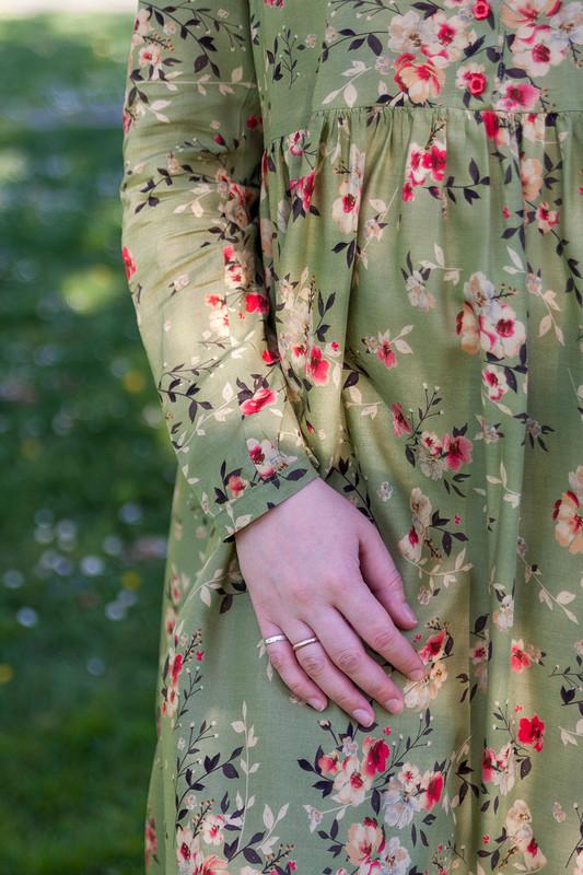 Весеннее платье от Pangasius