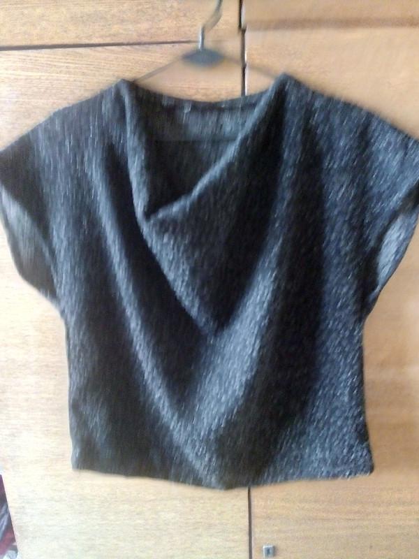 Пуловер изплотной ткани от Маргарита Фаддеева