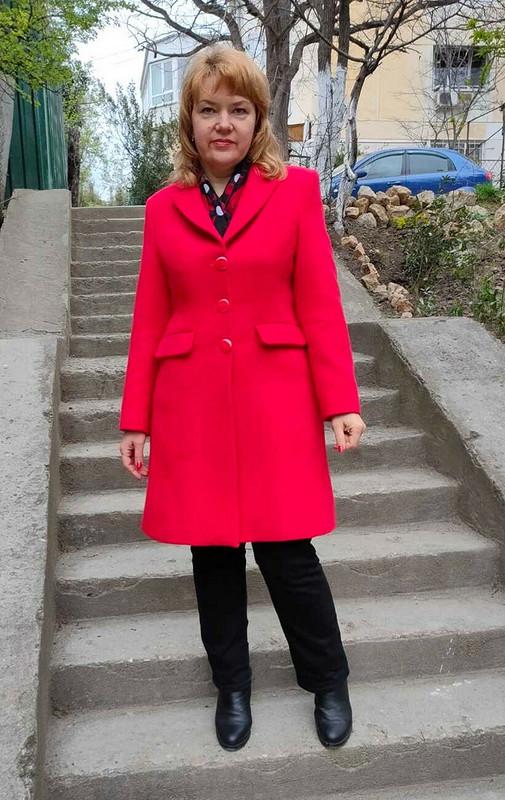Красное пальто от Татьяна Славинская