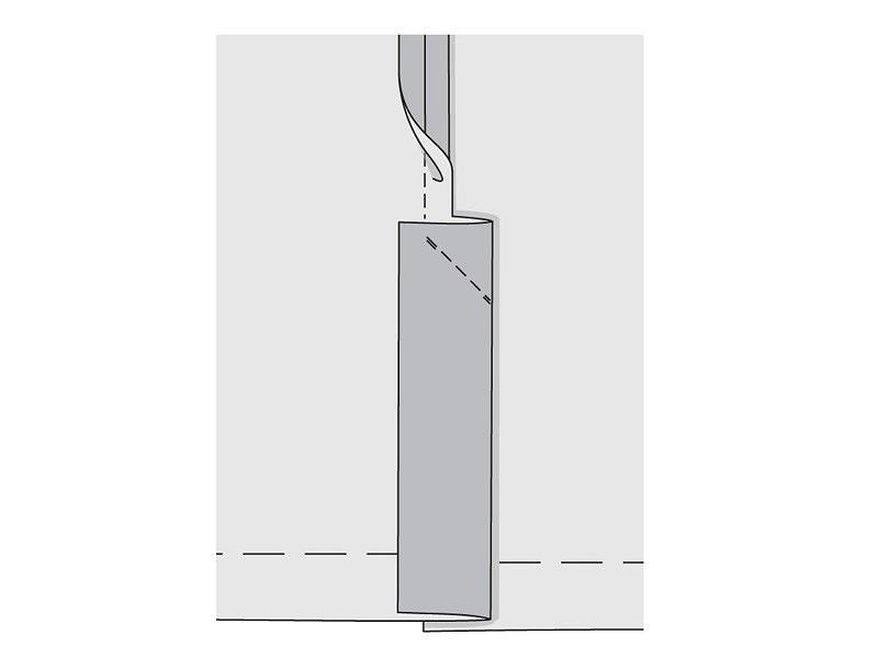 Азы шитья: шлица сподкладкой
