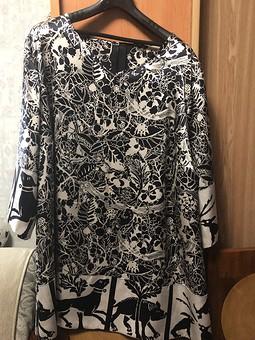 Работа с названием Блуза из шёлка