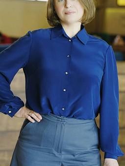 Работа с названием Строгая блузка