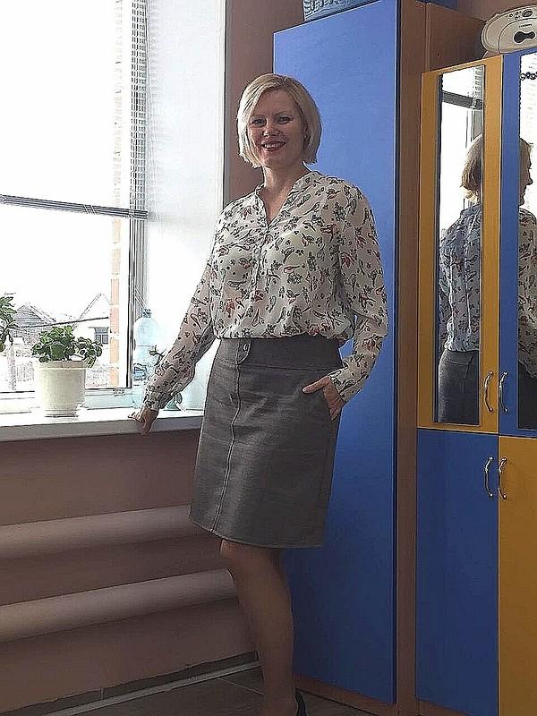 Юбка А-силуэта от Ксения Лугинина