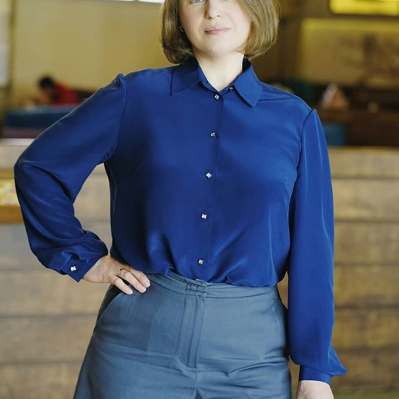 Строгая блузка от LyubovBychkova