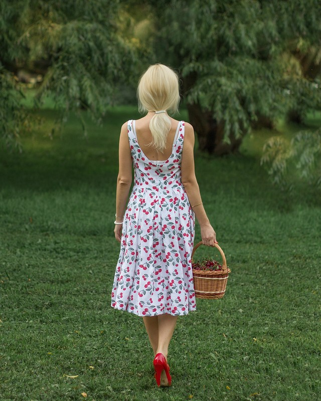 Платье «Вишенки» от annywka2807