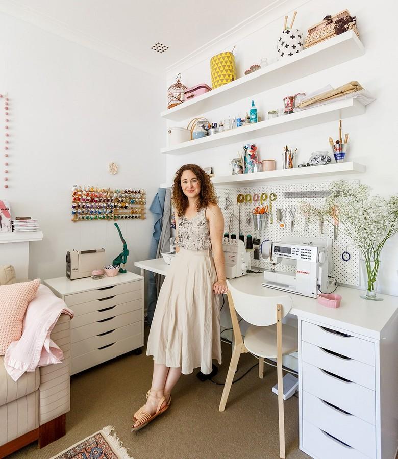Тур пошвейной студии блогера Меган Нильсен