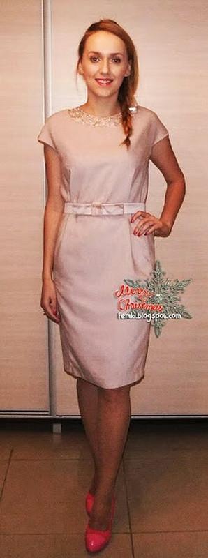 Платье классического кроя от hhania