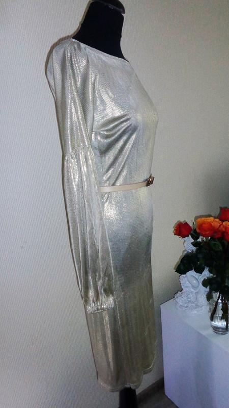 Платье «Золото, а неженщина» от Сияние