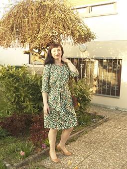 Работа с названием Весенняя нежность - платье