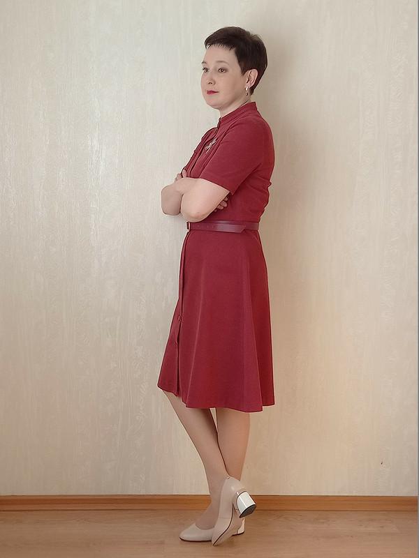 Платье измикровельвета от Людмила @m.madmuasel
