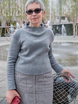 Работа с названием Двухсторонний пуловер