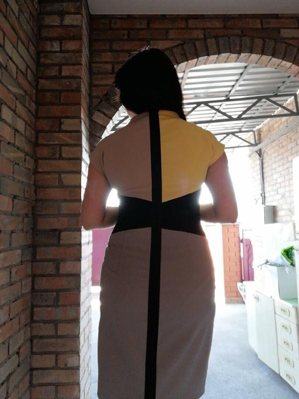 Платье колор-блокинг от valerka33