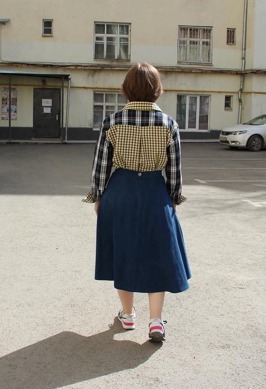 Рубашка помотивам образа со Streetstyle от fortuna