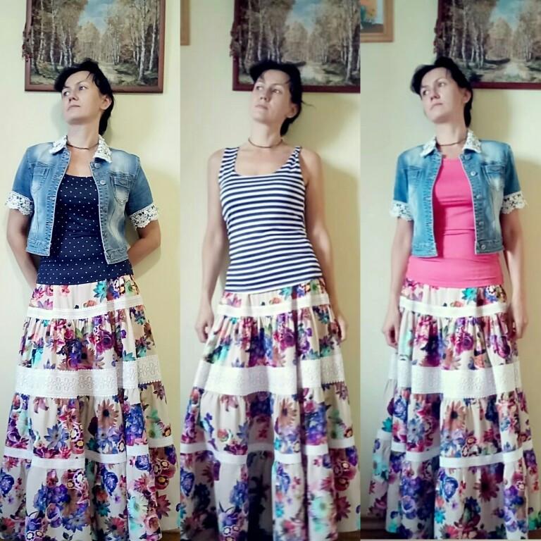 Цыганская юбка от Олеся Филиппова