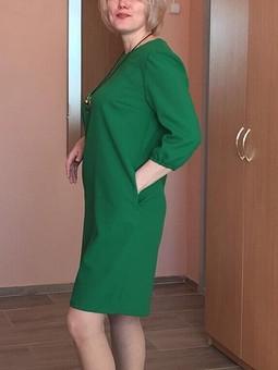 Работа с названием Платье с рукавами ¾ №121