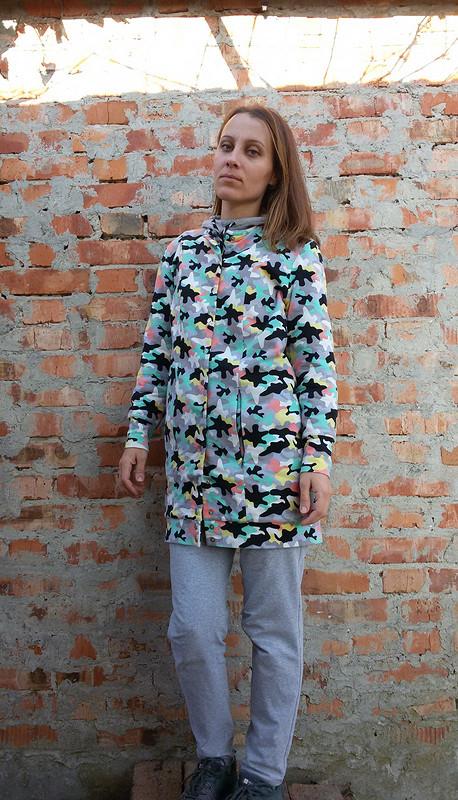 Трикотажное пальто от Nastya S