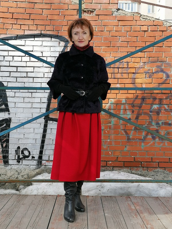 Юбка от Lаdy in red