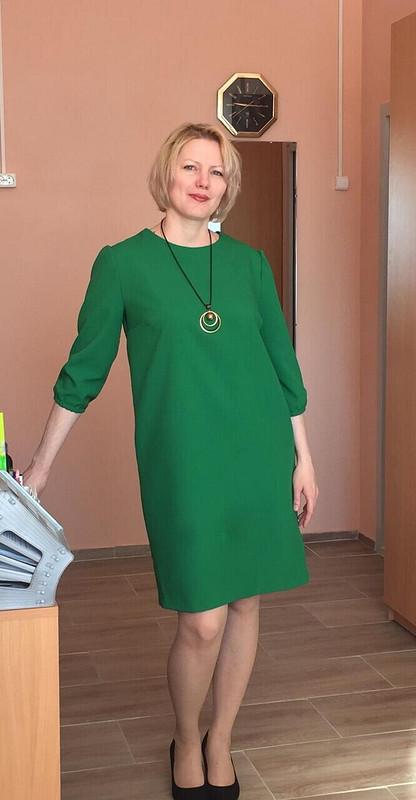 Платье срукавами 3/4 №121 от Ксения Лугинина