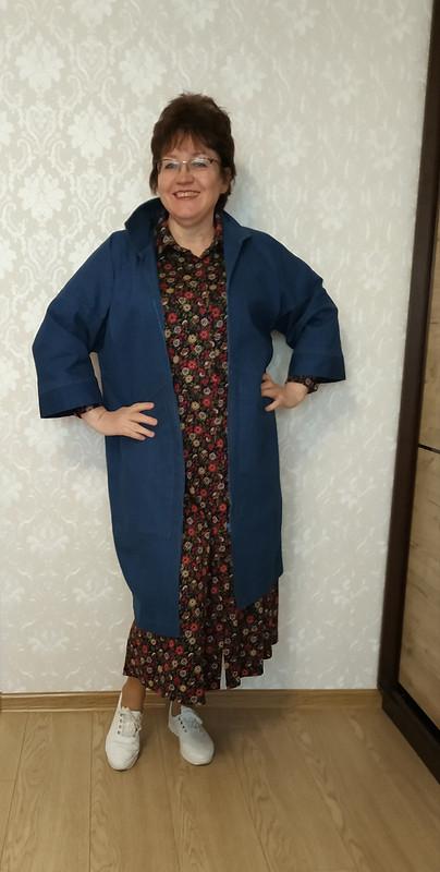 Кардиган (пальто) джинсовый от STI