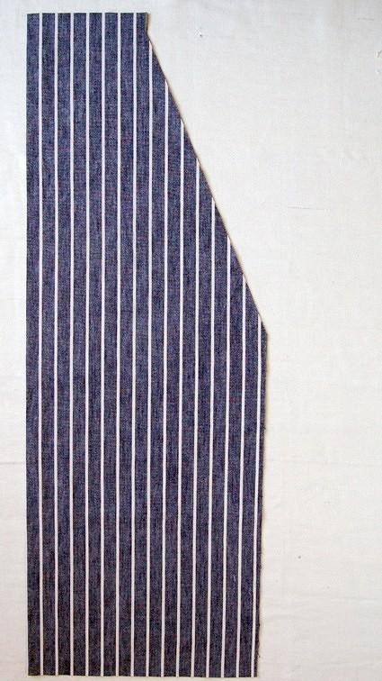 Фартук срегулируемыми завязками: мастер-класс