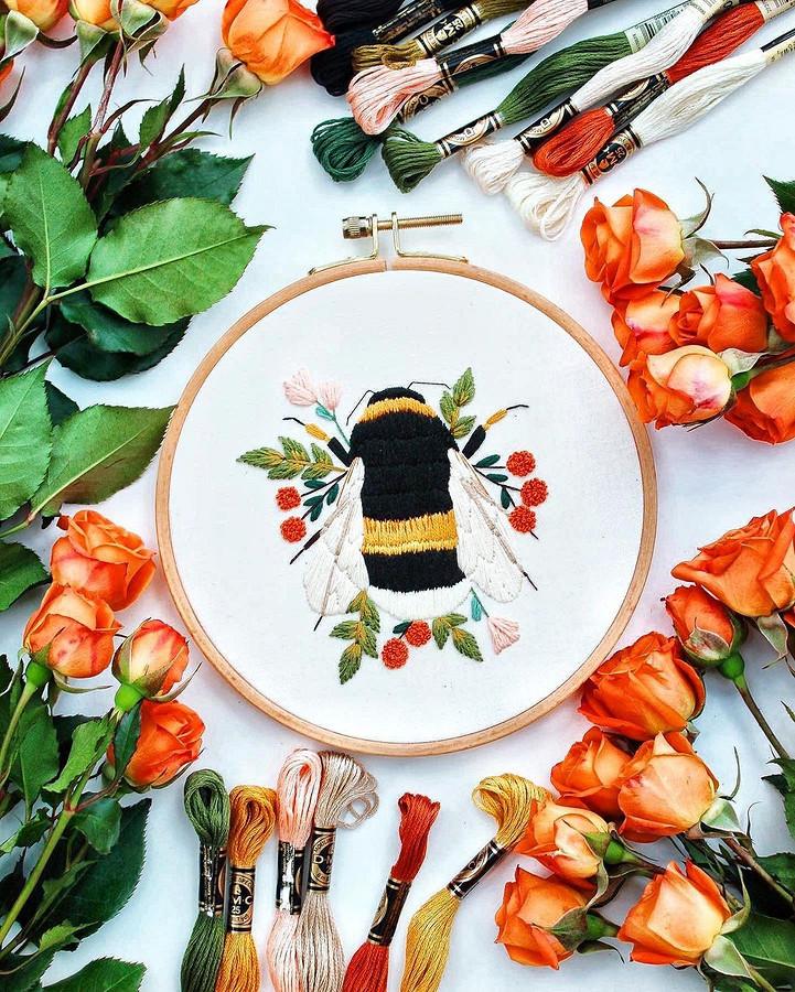 Очаровательные работы, посвящённые природе: рукодельный instagram недели