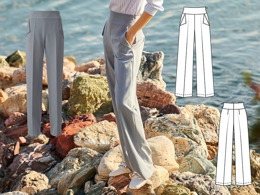 Обработка низа брюк вручную: видео + мастер-класс