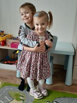 Работа с названием Платье для младшей внучки