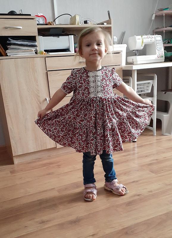 Платье длямладшей внучки от Olga_N