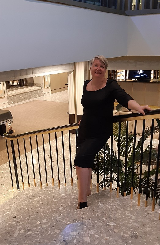 Вечернее черное платье от OtKati
