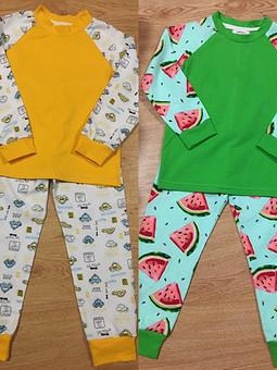 Работа с названием Детские пижамы