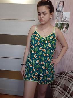 Работа с названием Домашняя одежда: майка и шортики