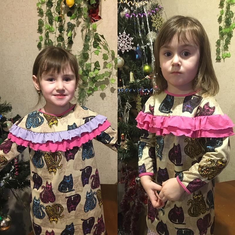 Детские платья от Марина