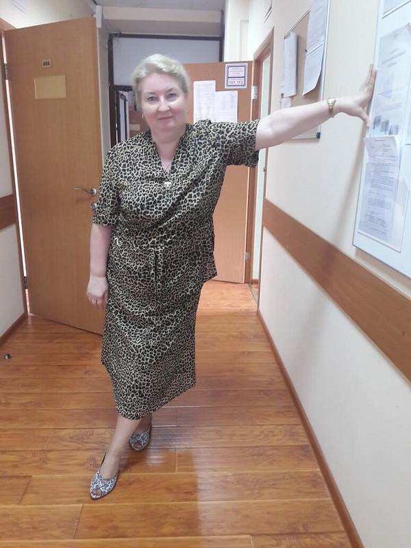 Юбочный костюм леопардовый от Lybasha
