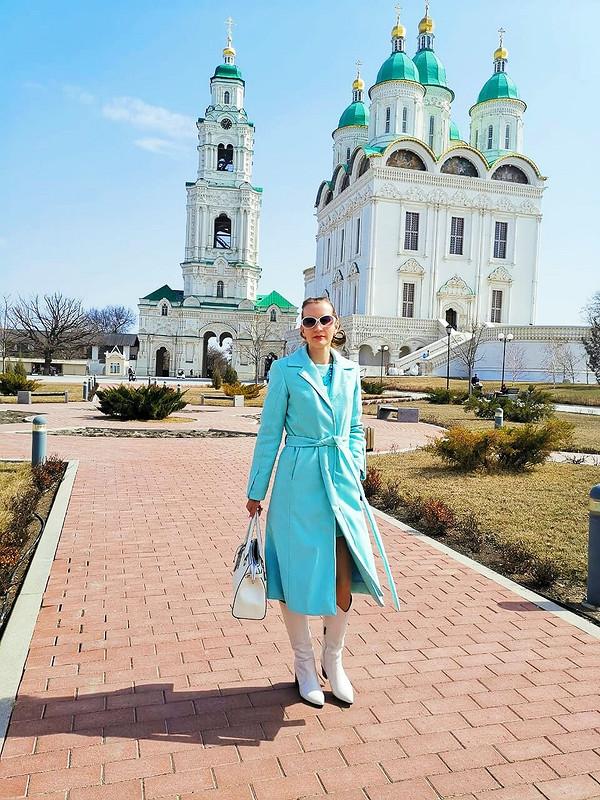 Мятное пальто от kisulka83