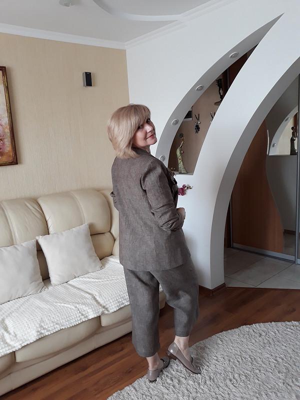 Брючный костюм льняной от tatyana turutina