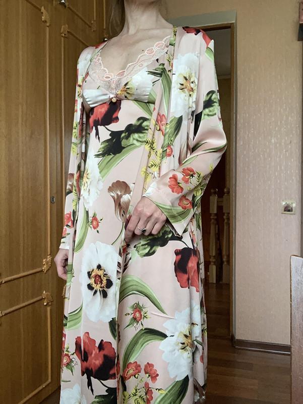 Сет изшелка: кимоно икомбинация от Fern13