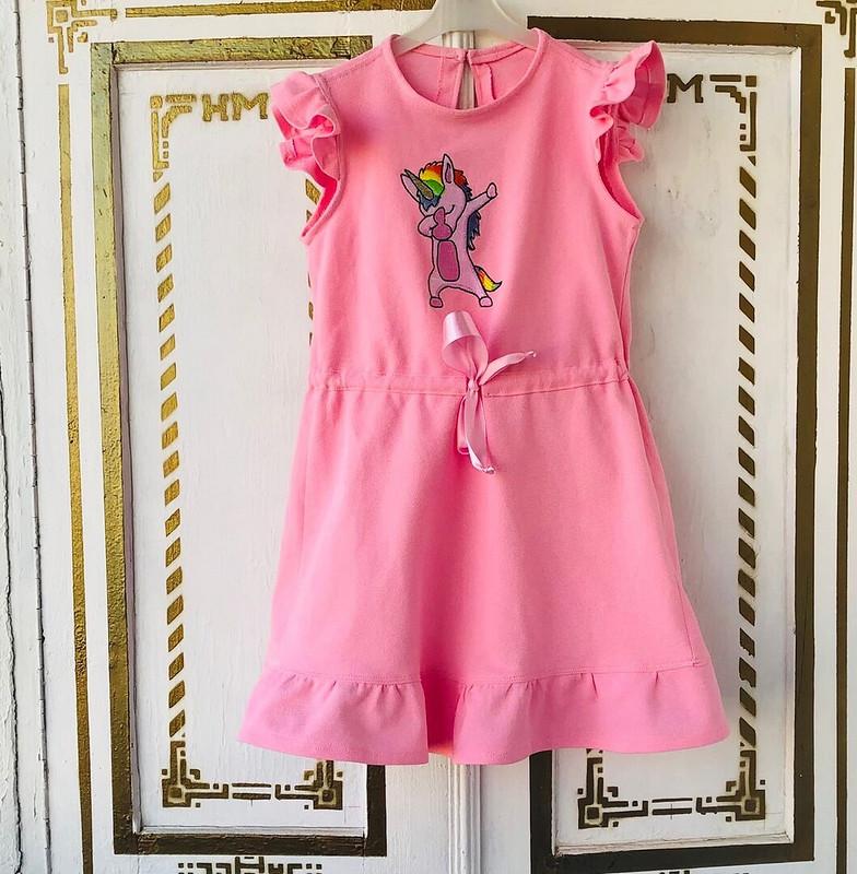 Платье свышивкой единорожка от Nadja_7777