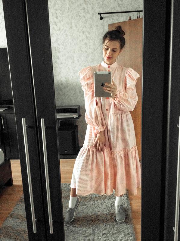 Платье «клубника всливках» от LiubovEvseeva