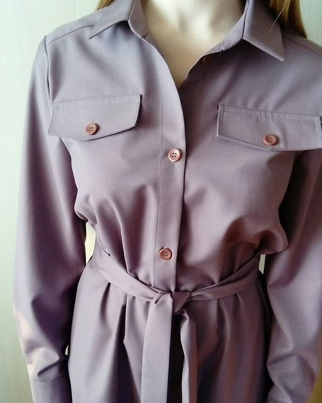 Платье-рубашка от  Veronika Artemova