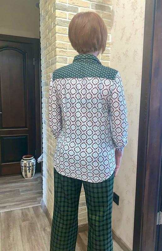 Батник. Блузка-рубашка от Glykerya