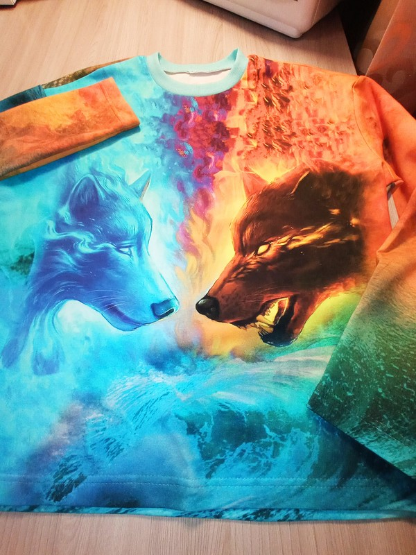 Свитшот «Огонь!» от Ирина Романенко