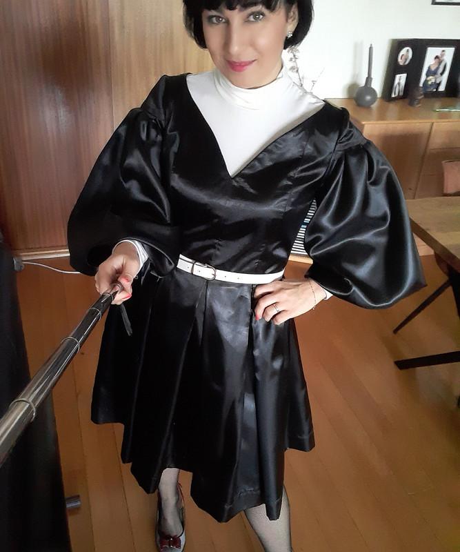 Платье сV-вырезом от Natalee0509