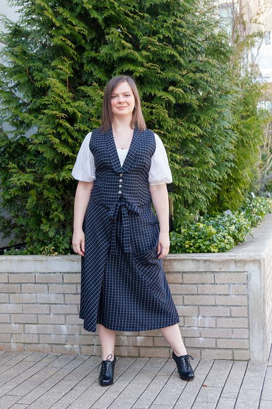 Асимметричная юбка от Pangasius